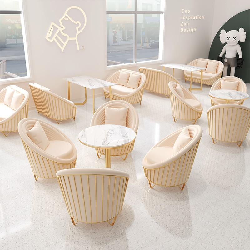 Настраиваемые диваны для стола, комбинированные роскошные железная зона для отдыха, кофейня, бара, ресторана, диван для переговоров, диван д...