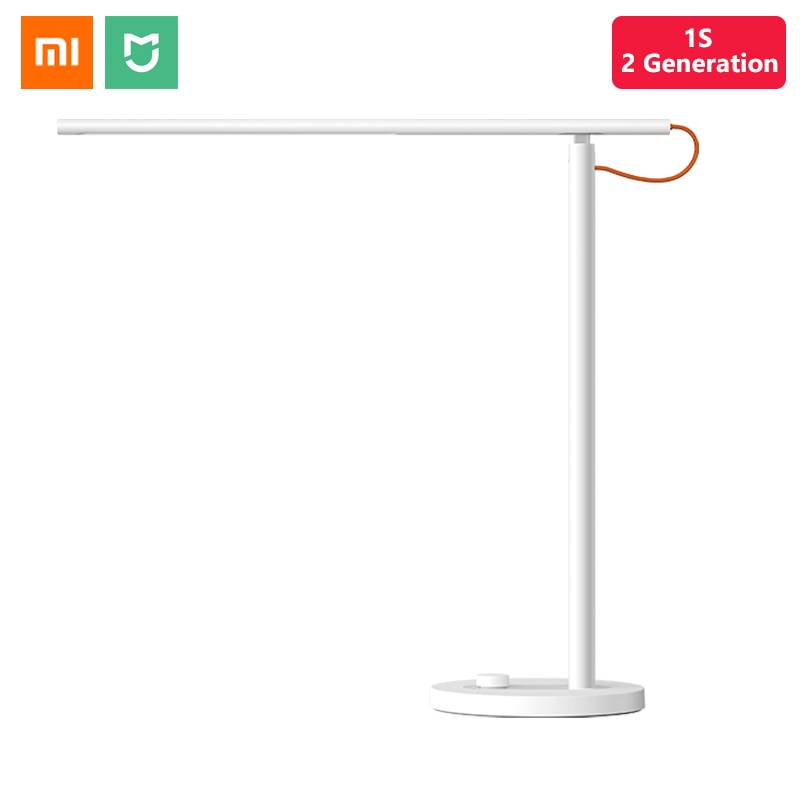 Original Xiaomi Mijia Smart LED Desk Lamp 1S 9W Table Lamp 4 Light Mode Dimmable Apple HomeKit Mi Home APP Siri Voice Control