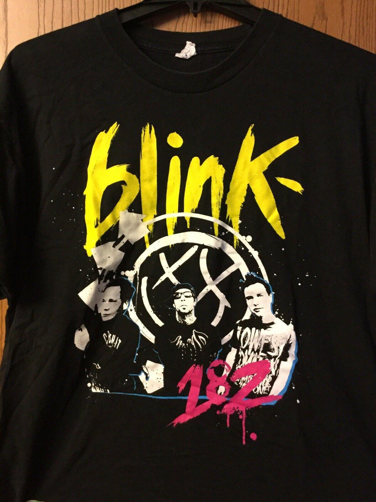 Camisa Blink 182 negro Xl