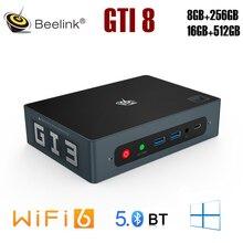 Beelink GTi8 Mini PC Intel Ice Lake i5-8259U 4K UHD WiFi 6 BT5.0 Windows 10 Computer TV BOX Office g