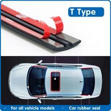 Резиновый уплотнитель двери автомобиля, герметик для защиты лобового стекла, уплотнительная лента для автомобильной крыши, звукоизоляционные уплотнения для окон, автомобильные аксессуары