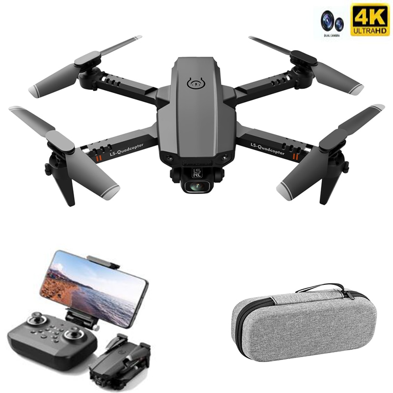 Best Mini Drone XT6 4K 1080P HD Camera WiFi Fpv Air Pressure Altitude Hold Foldable Quadcopter RC Drone Kid Toy GIft