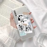 haikyuu volleyball anime phone case transparent for xiaomi redmi note cc k 30 10 20 8 9 8 s e t x pro