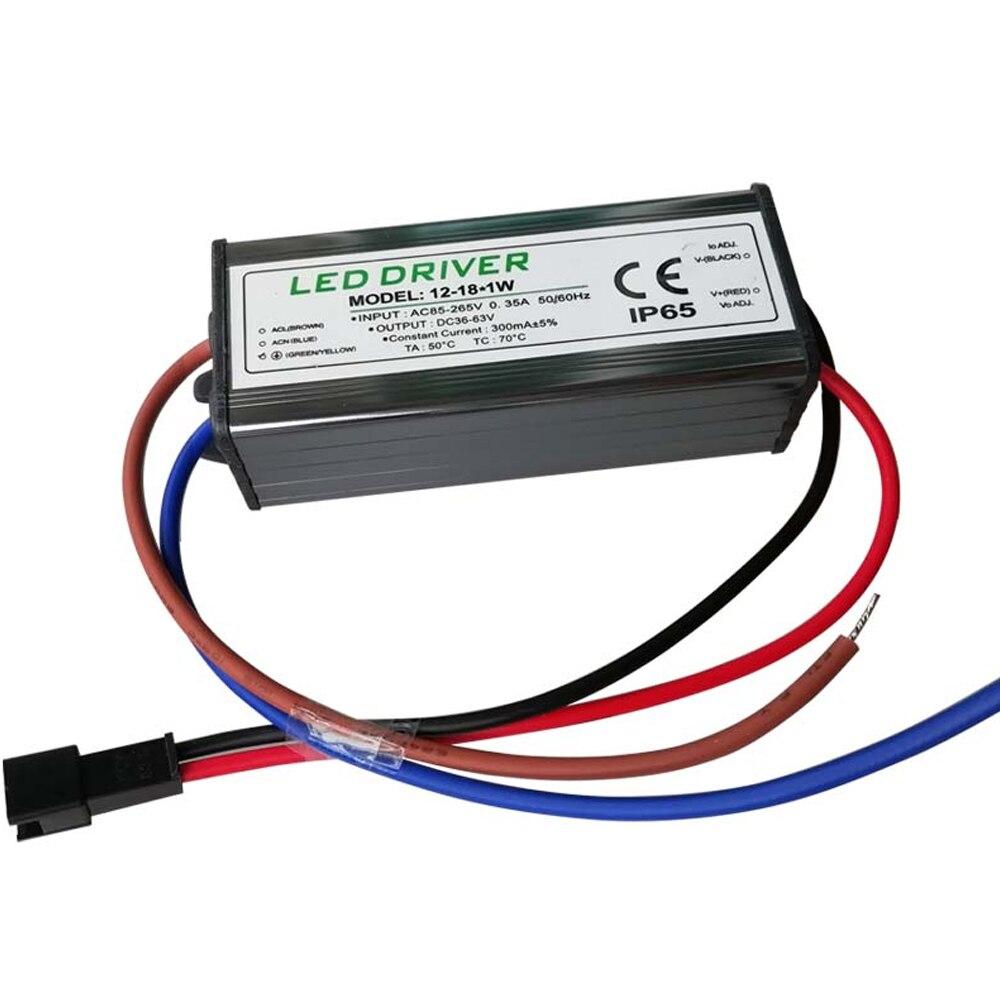 Светодиодный драйвер питания 50 вт трансформатор водонепроницаемый IP65 для