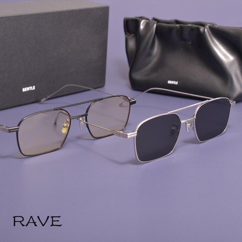 Новинка 2021 стильные квадратные женские мужские очки-авиаторы GM металлическая оправа солнцезащитные очки нежные Модные солнцезащитные очк...
