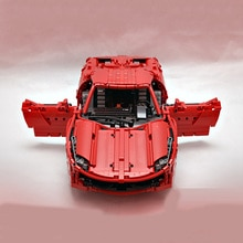 Technic RC Motor Power Function Vehicle Ferraries 458 Mobile Building Kits Blocks Bricks birthday diy toy Gift