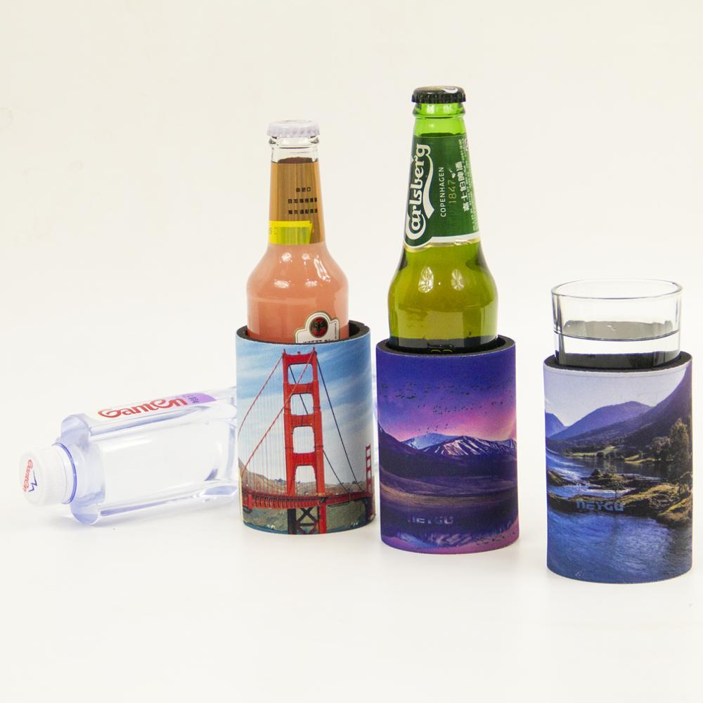 Refroidisseur de bouteille de grand support en néoprène, porte-bouteille, support de verre, utilisé comme bouteille de bière refroidisseur Koozies, peut koozie