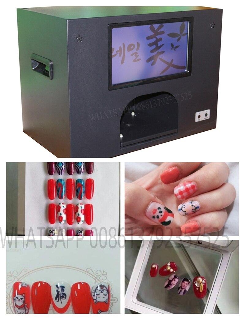 design Nail Printer Nail Art Stamping Plates Manicure polish Stamping machine nail printer  and flower printer 5 nails printing