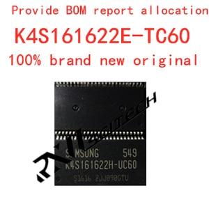 100% new memory granule K4S161622E-TC60 tsop flash DDR SDRAM routing upgrade memory provides BOM allocation