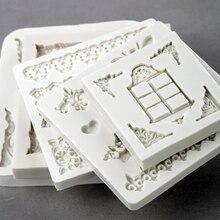 Spitze Relief Crown Form Fondant Kuchen Dekorieren Werkzeuge Silikon Formen Sugarcrafts Schokolade Backen Werkzeuge Für Kuchen Gumpaste Form