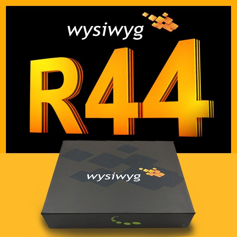 Wysiwyg R44 realizar dongle DMX USB interfaz de Disco DJ etapa Ma2 grandma2 DMX512 discoteca de luz liberación 44 dongle