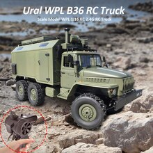 WPL B36 Ural Lkw Skala Modell WPL 116 RC Armee Lkw 2,4G 6WD RC Auto Off-ritt Remote control Militär Lkw Rock Crawler