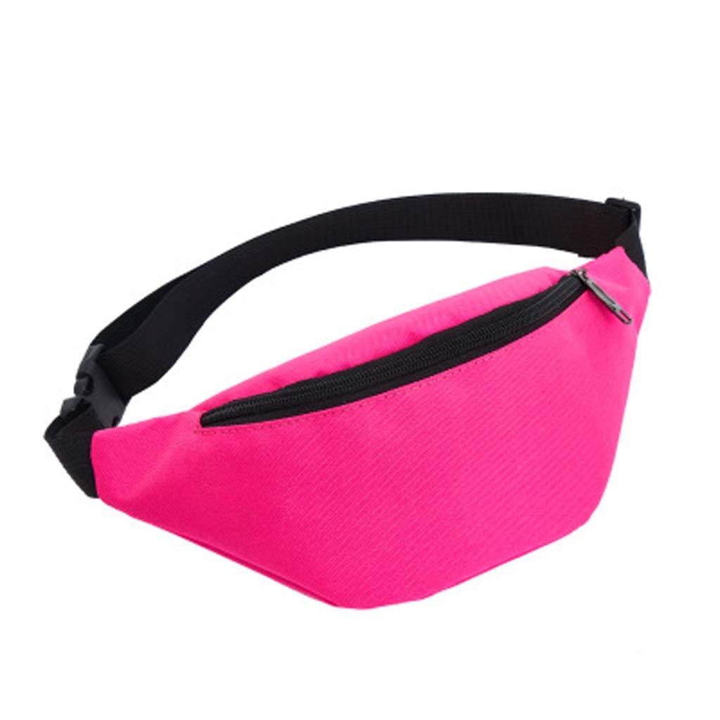 Fanny pack for women Unisex Pocket Outdoor Sports Waist bag Pouch For Money Phone Black Bum Hip Bag Sac banana femme Chest bag