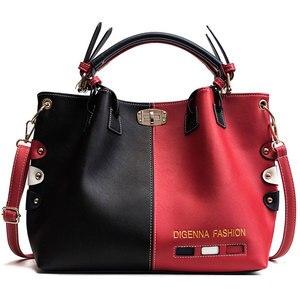 Handbags Women Bags Designer Womens Panelled Message Bag Female Leather Crossbody Bag Lock Shoulder Bags For Women 2019