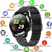 OLPAY 2021 Full Touch Screen Smart Watch Bluetooth Call Smartwatch Men Women Waterproof Sport Fitnes