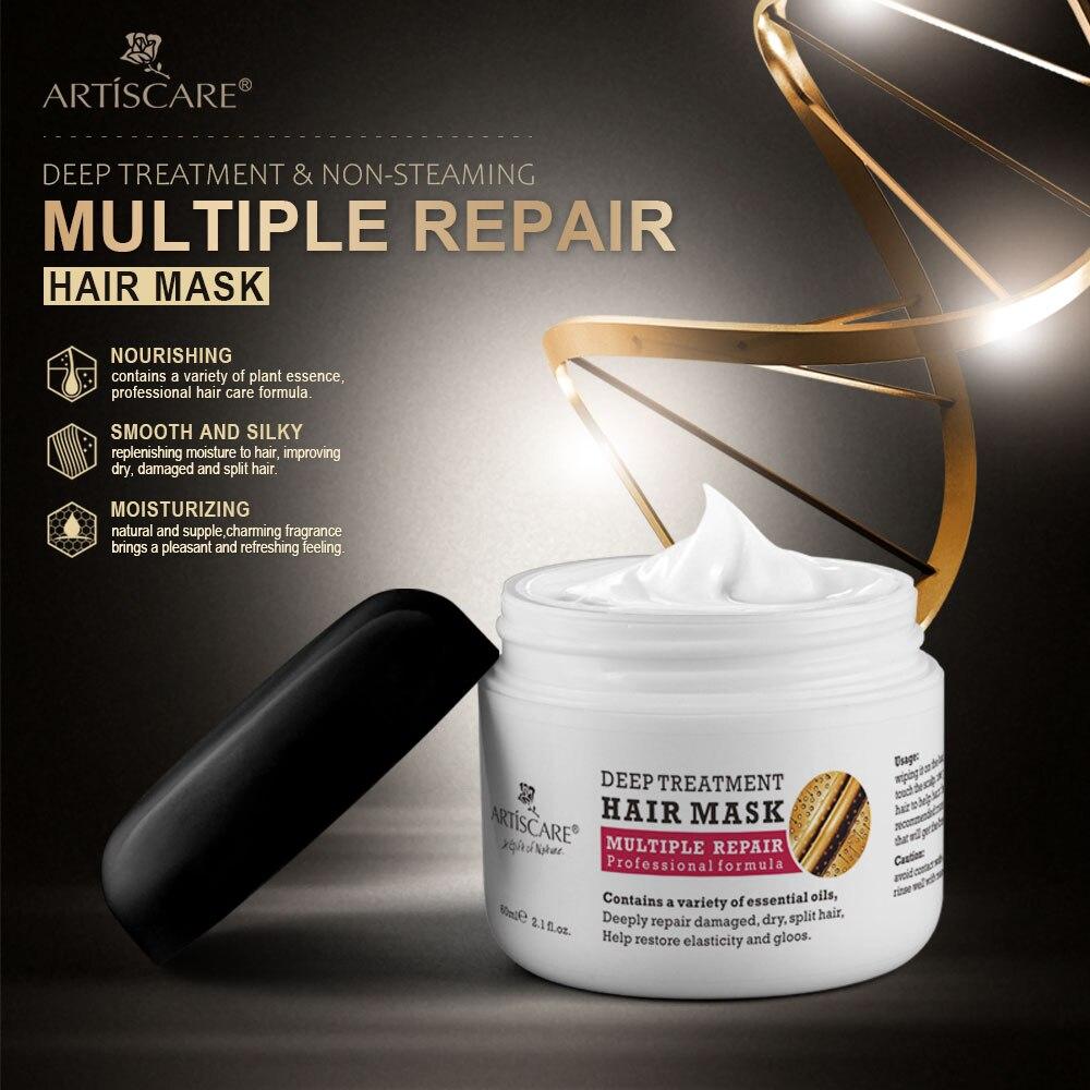 ARTISCARE-mascarilla para el cabello, mascarilla de reparación de daños, tratamiento para el...