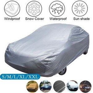 1Pc Car Covers Size S/M/L/XL/XXL Indoor Outdoor Full Auto Cover Sun UV Snow Dust Resistant Protection Cover For Sedan SUV