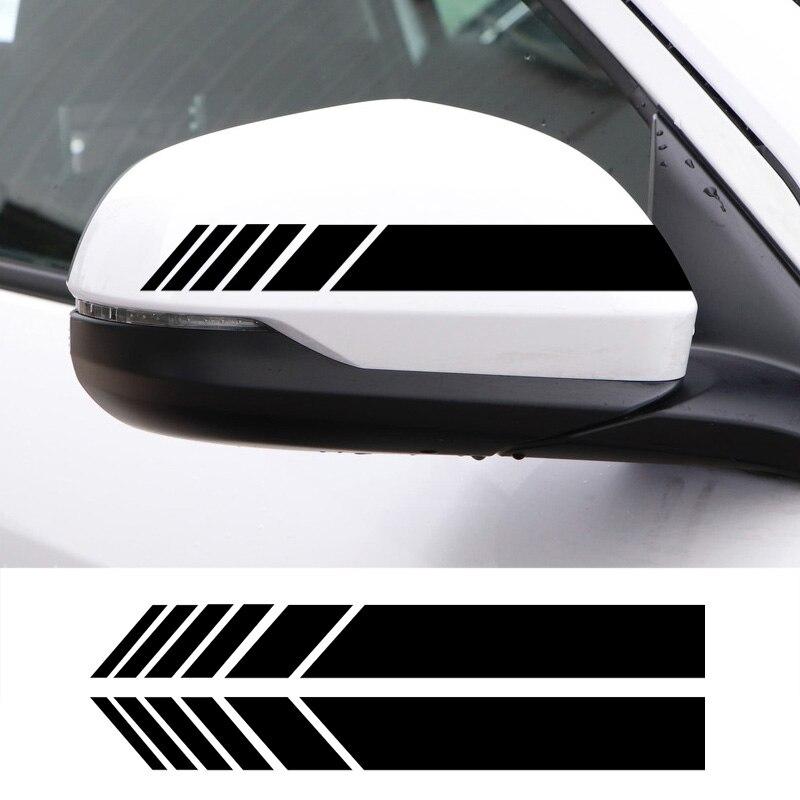 2 uds espejo retrovisor para coche pegatinas reflectantes para Daihatsu Terios Sirion Mira Materia Rocky YRV Feroza accesorios para coche
