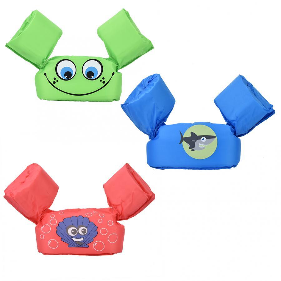 Bebé niños brazo anillo chaleco salvavidas flotadores espuma seguridad chaleco salvavidas mangas brazaletes natación círculo tubo anillo anillos de natación deportes acuáticos
