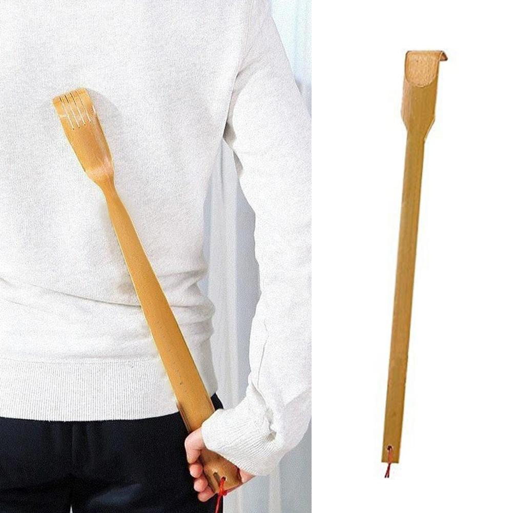 1pcs Back Scratcher Bamboo Tickling Artifact Children Adults Scratching Massager Anti Itch For Self