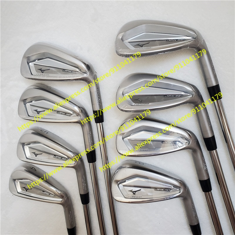 Men Golf iron Clubs JPX 921 irons Set Golf Forged Irons Golf Clubs 4-9PG/8PCS R/S Flex Steel Shaft With Head Cover