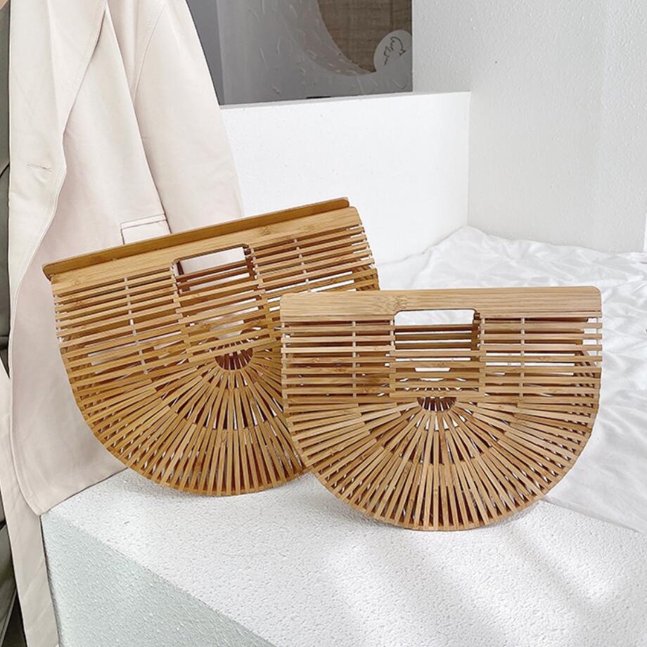 Elegant Female Weave Tote bag 2021 Fashion New High quality Women's Designer Handbag Large Saddle bag Straw Beach Travel bag