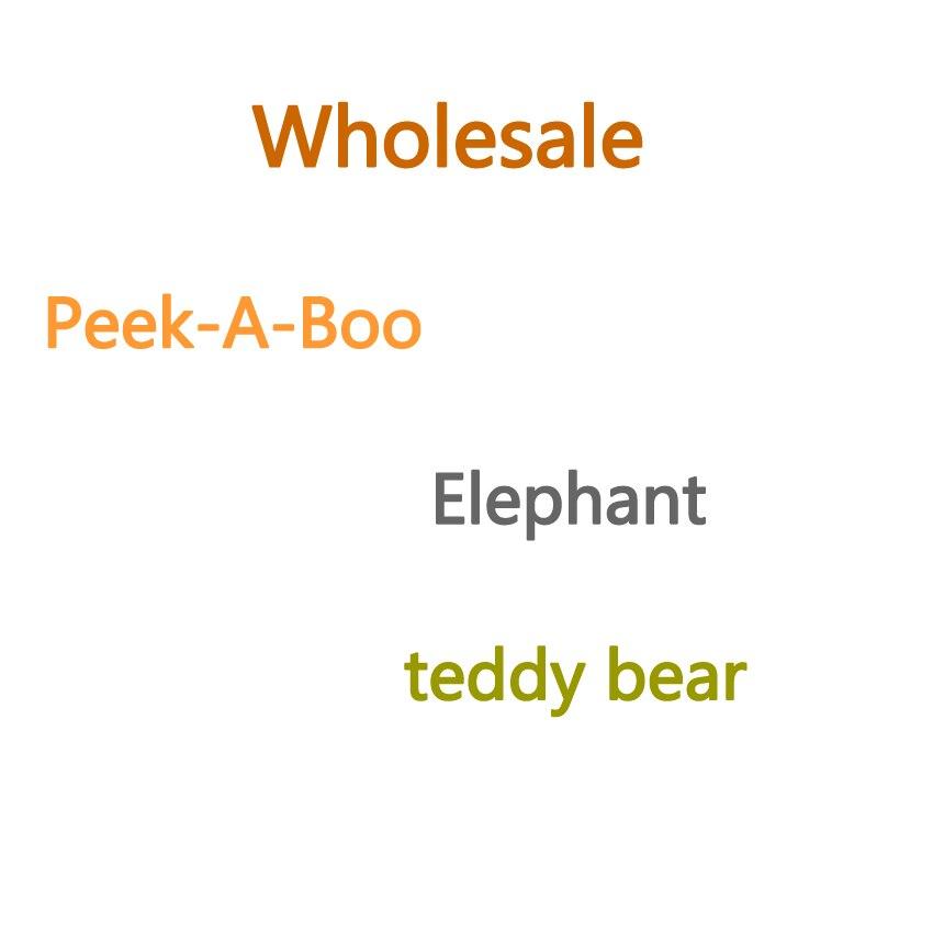 VIP 30cm peek-a-boo PeekABoo elefante osito de peluche de juguete
