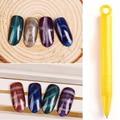 ROSALIND Nail Art Magnet Stick Cat Eyes Magnet for Nail Gel Polish 3D Line Strip Effect Strong Magnetic Pen Tools Gel Varnish