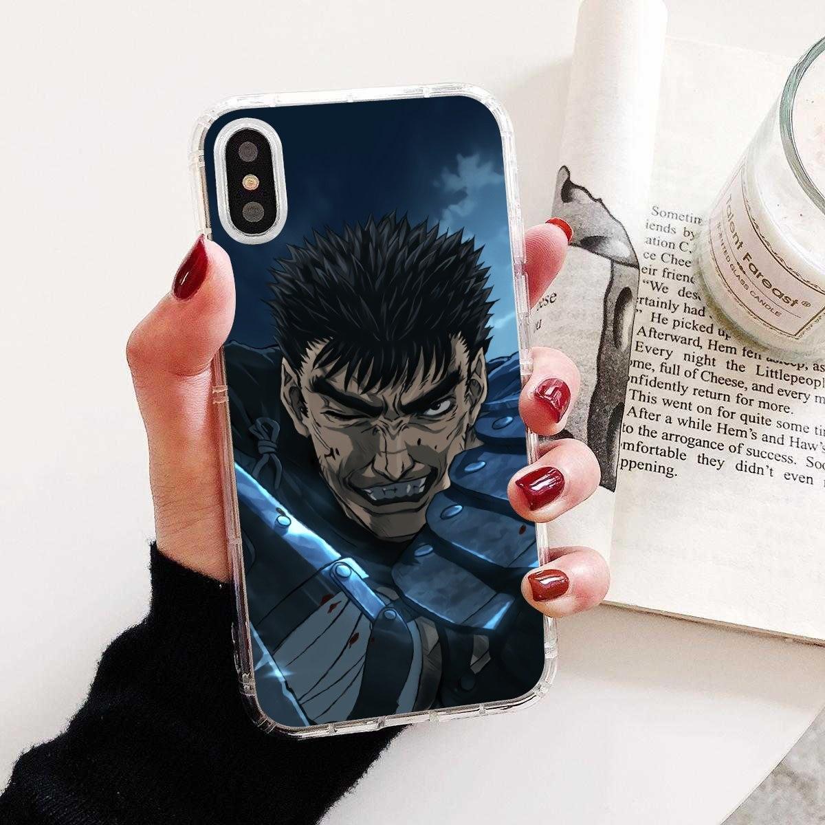 Loco agallas Anime bien Collage de silicona caso de teléfono para Samsung Galaxy nota 2 3 4 5 8 9 S2 S3 S4 S5 Mini S6 S7 borde S8 S9 Plus