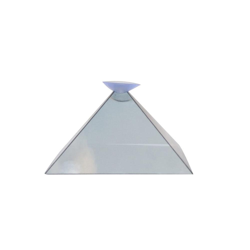 Soporte Universal de vídeo para proyector de pantalla piramidal con holograma 3D para teléfono inteligente PUO88