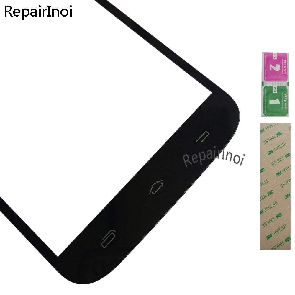 10Pieces/Lot Touch Screen For I-mobile IQ Touch Screen Front Glass Digitizer Panel Sensor Replacement Part 3M Glue enlarge