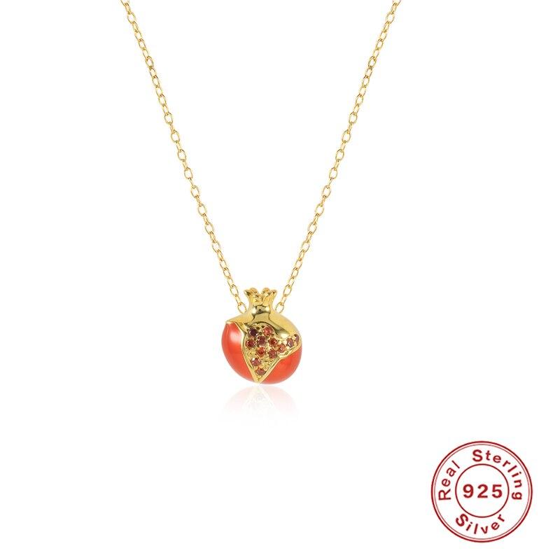 Ожерелье-женское-из-серебра-925-пробы-с-эмалью-и-красными-фруктами