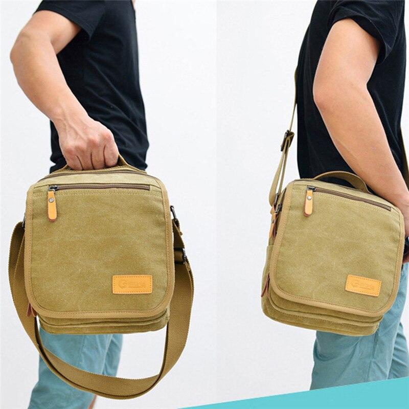Travel Military Bag City Outdoor  Jogging Sports Bags Canvas Messenger Bag Men Fitness Shoulder Bag
