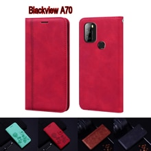 Leather Book For Blackview A70 Case Flip Cover Funda For Blackview A 70 Case Wallet Phone Protective
