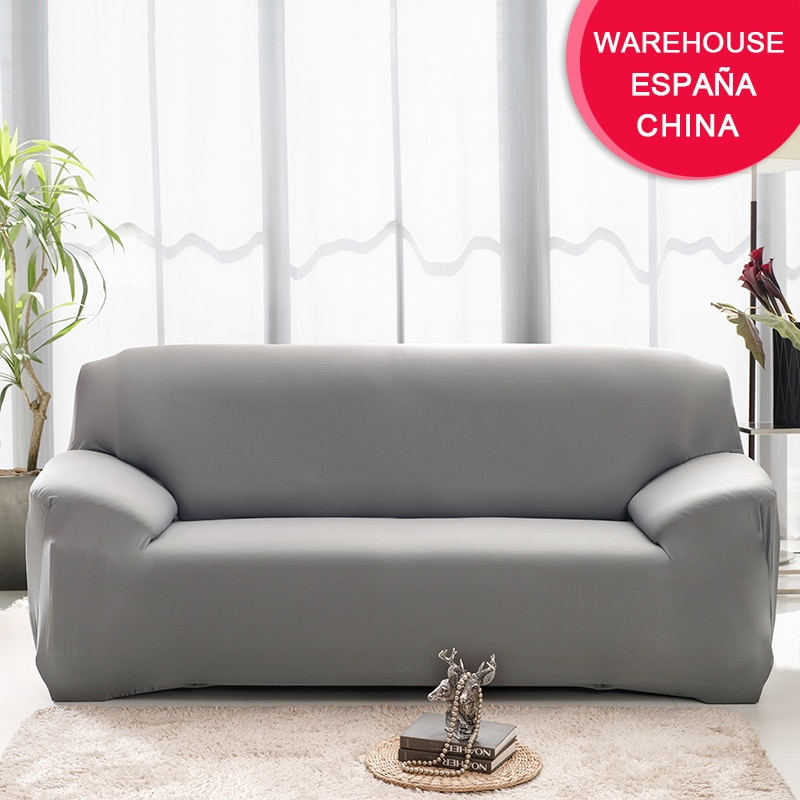Elastic Plain Solid Sofa Cover Stretch Tight Wrap All-inclusive Sofa Cover for Living Room funda sofa Couch Cover ArmChair Cover