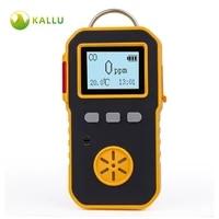 kallu portable industry co gas detector carbon monoxide co meter usb charge 0 1000ppm co gas leak meter