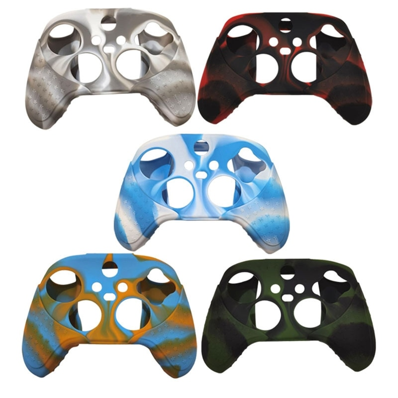 Handle Sleeve Silicone Case Skin Protective Cover for Xbox-Series X S L M Slim X Gamepad Silicone Case