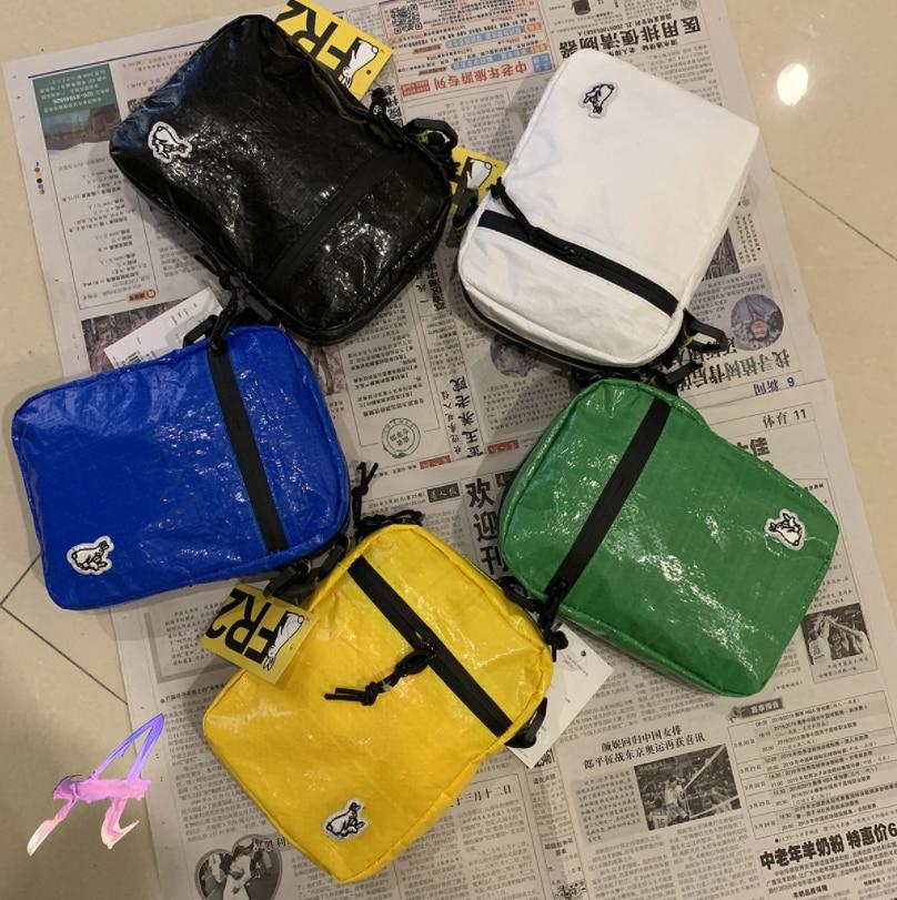 New FR2 Rabbit Messenger Bag Shoulder Coin Purse Tide FR2 Men Women High Quality Waterproof Bright Surface Trendy Mini Backpack