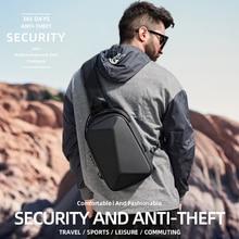 Rowe 2020 nouveau Anti-voleur TSA serrure sac à bandoulière étanche hommes sac à bandoulière USB charge fronde poitrine sac Fit 10.2 pouces iPad
