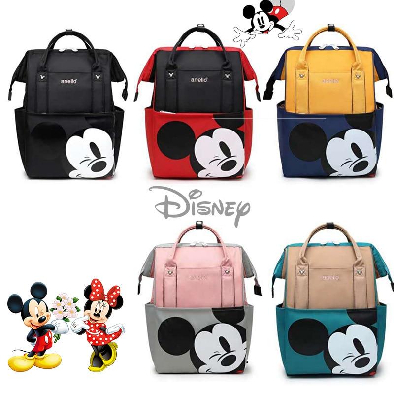Disney Baby Care Diaper Bags Mummy Bag Large Capacity Mom Waterproof Storage Bag Travel Baby Maternity Diaper Bag Backpack