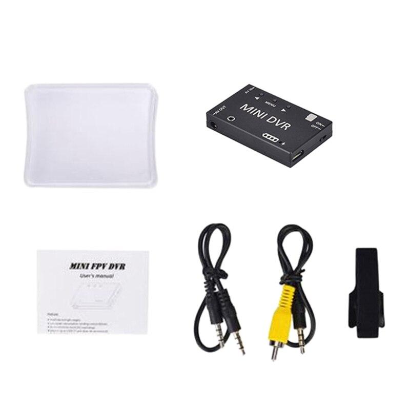 LST Mini FPV módulo DVR NTSC/PAL/conmutable de Audio y Video grabadora FPV para modelos RC carreras de FPV Drone