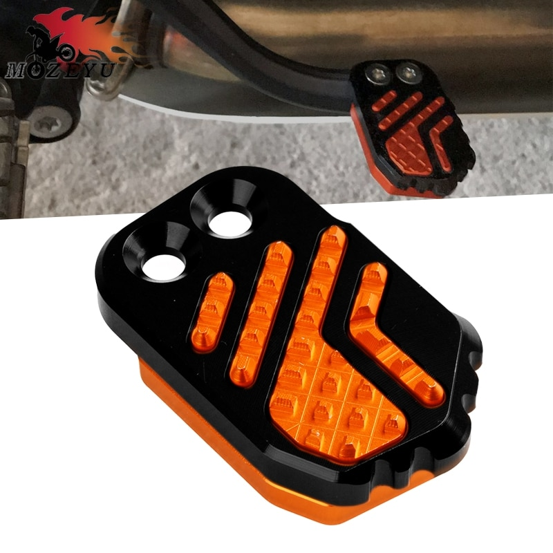 CNC freno de la motocicleta trasera del pedal Paso para KTM 690 Enduro 2014-2016 Husqvarna TE 125 250 250i 300i 300i TC 125 250 Peg cojín de Extensión