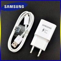 Быстрое зарядное устройство Samsung, оригинальный адаптер QC 3,0 для зарядки, кабель Micro USB для Galaxy M21 A10 J3 J5 j7 A3 A5 A7 2016 Note 2 4 5 S4 S6