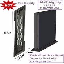 Supporto Base supporto Dock verticale caldo per Sony PS4 Slim nero