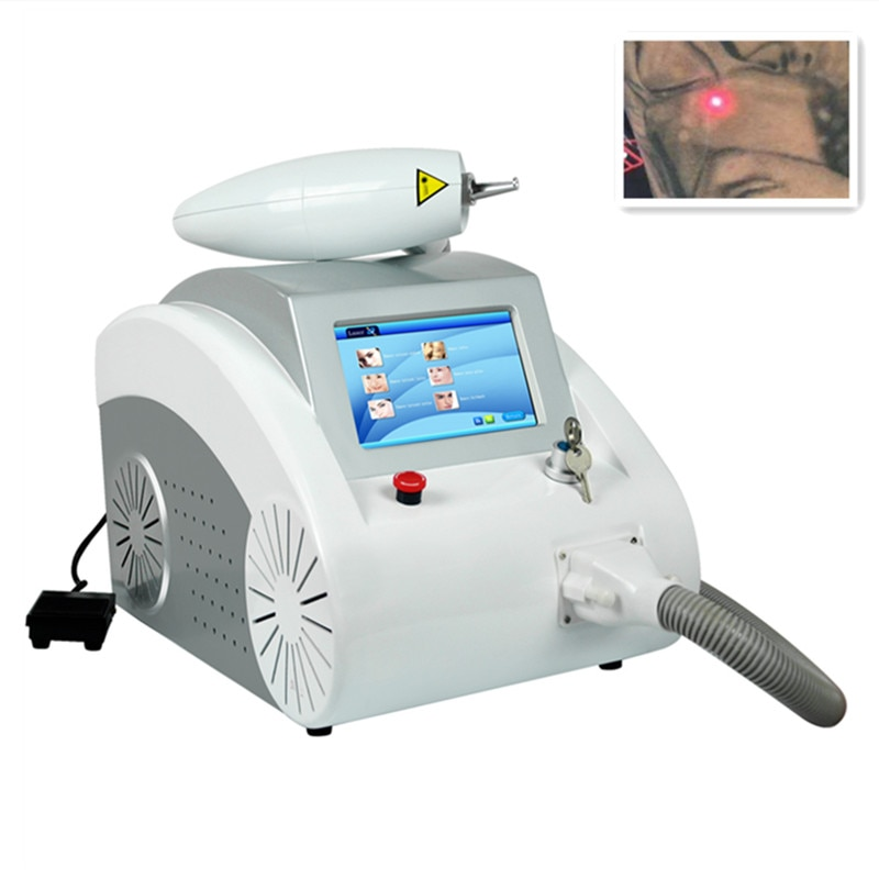 Sale 1064nm & 532nm Q Switched nd Yag Laser machine for tattoo removal eyebrow pigment wrinkle removal black doll carbon peeling