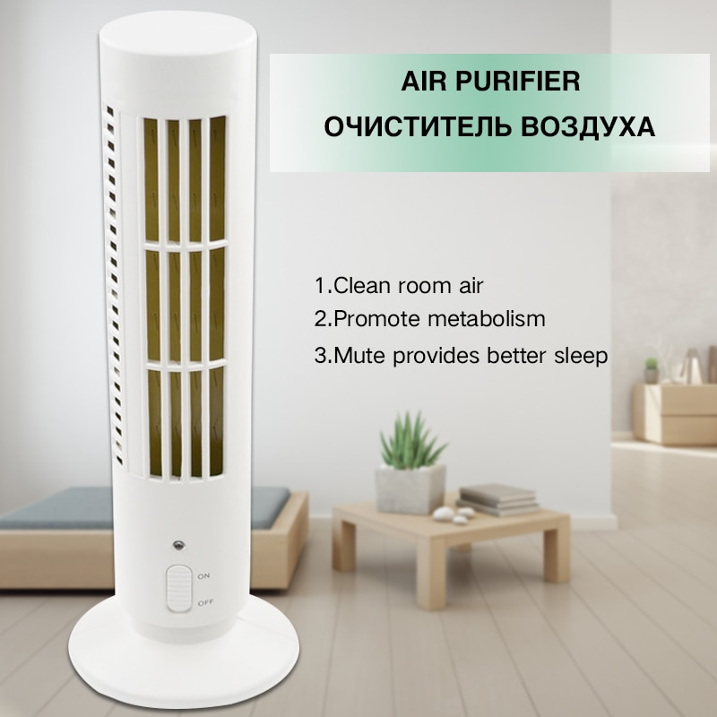True HEPA Filters Air Purifier For Home Compact Desktop Purifiers Filtration with Night Light Air Cl