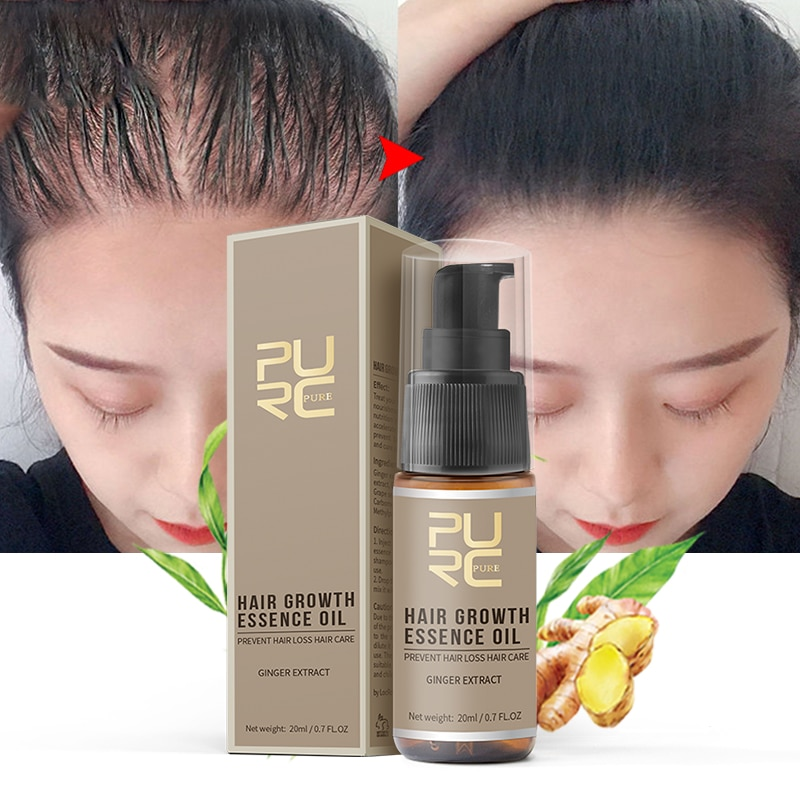 PURC Hair Growth Serum Oils Fast Hair Growth Products Hair & Scalp Treatments for Thinning Beauty Ha