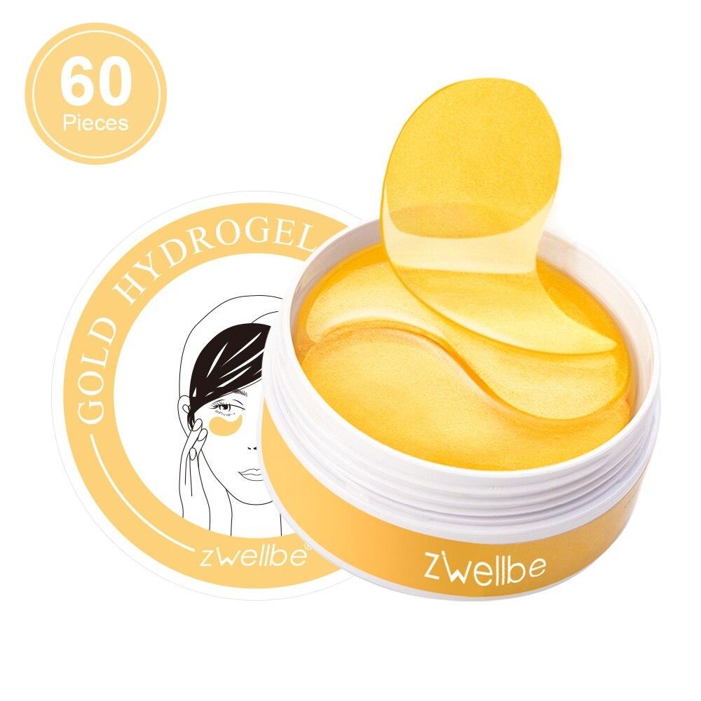60pcs Crystal Collagen Eye Patches Mask Anti Wrinkle Anti-Aging Gel Eye Mask Dark Circle Remove Eye Bag