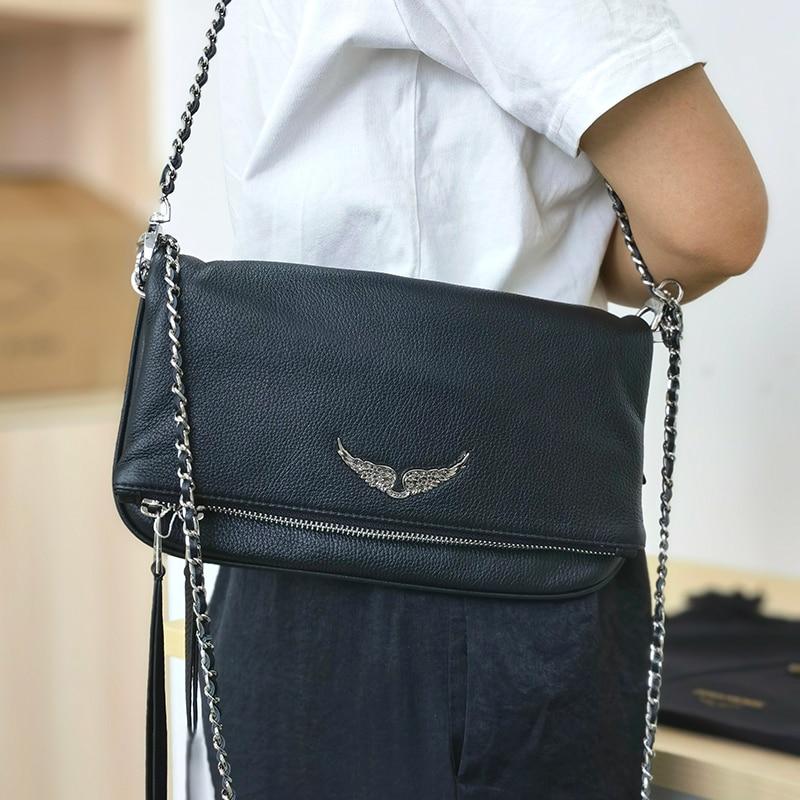 ساك دي لوكس فام المرأة حقيبة كروسبودي حقيبة الإناث حقيبة ساعي حقيبة يد جلدية حقيبة كتف وحقيبة يد المرأة كيس الرئيسي