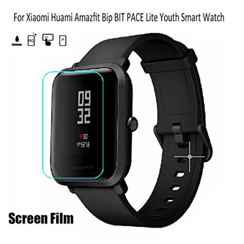 2 шт нано защитная пленка для Huami Amazfit Bip Youth TPU мягкая пленка Смарт-часы защита экрана взрывобезопасная защитная пленка